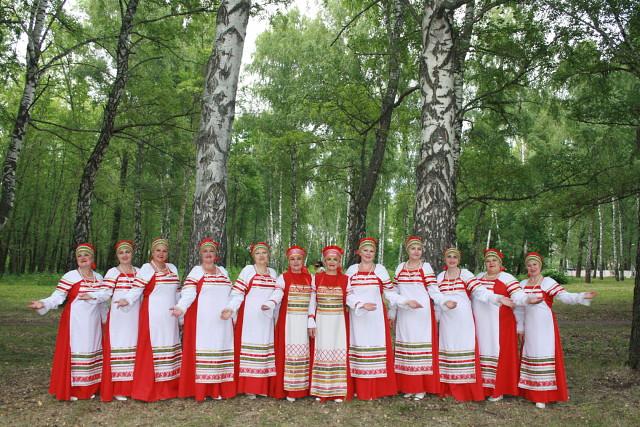 Участие в Гала-концерте 21 Всероссийского фестиваля народного творчества